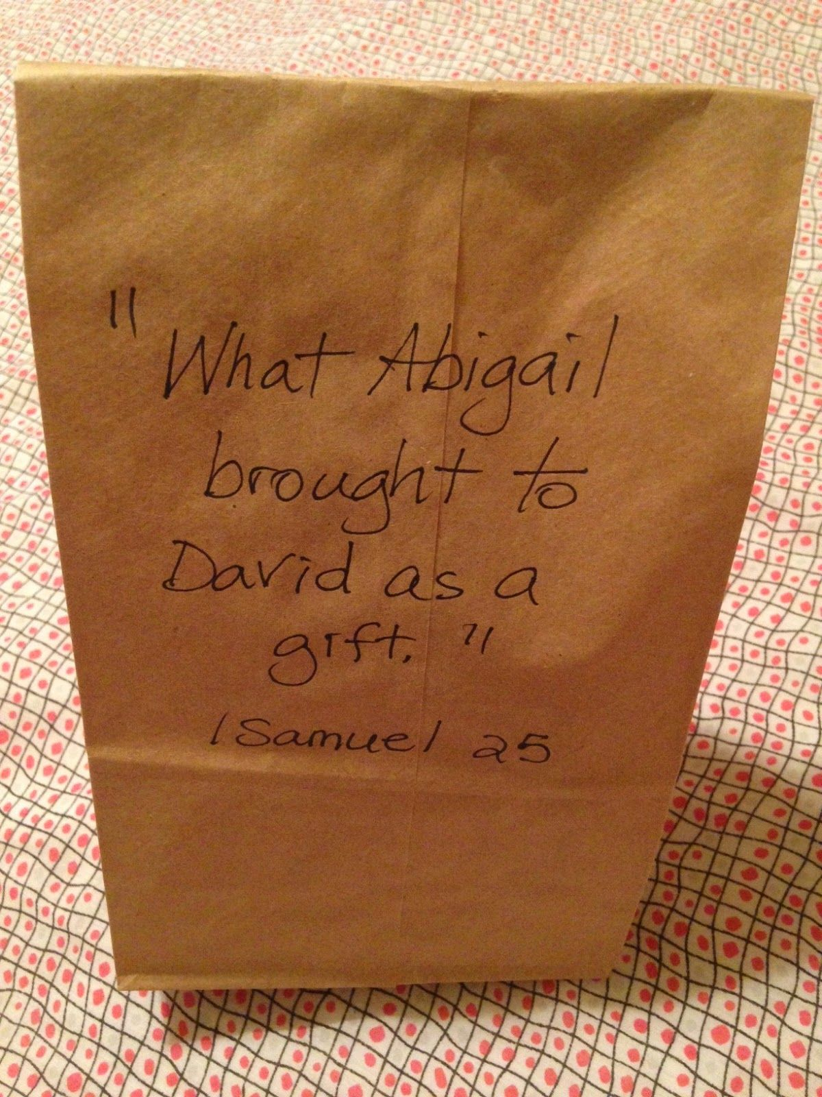 1 samuel 25 nabal and abigail no fast food out there in the