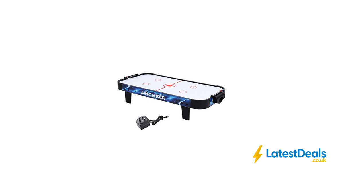 Ancheer 40inch Electric Air Hockey Table Portable With Pushers And Pucks,  £56.99 At Amazon