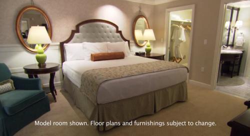 Grand Floridian Villas model room Grand floridian villas