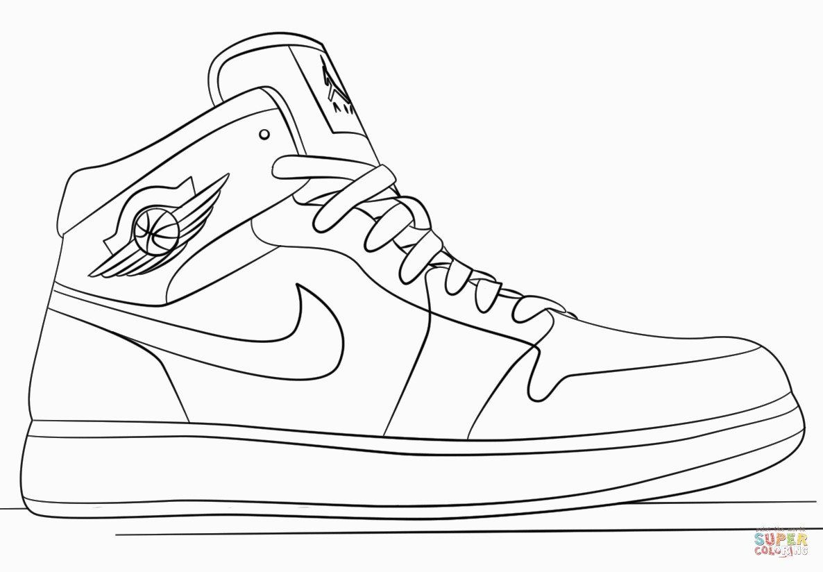 Jordan Shoe Coloring Book Beautiful Coloring Tremendous Jordan
