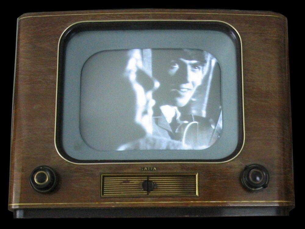 Saba Schauinsland WII from 1953 Old tv, Vintage