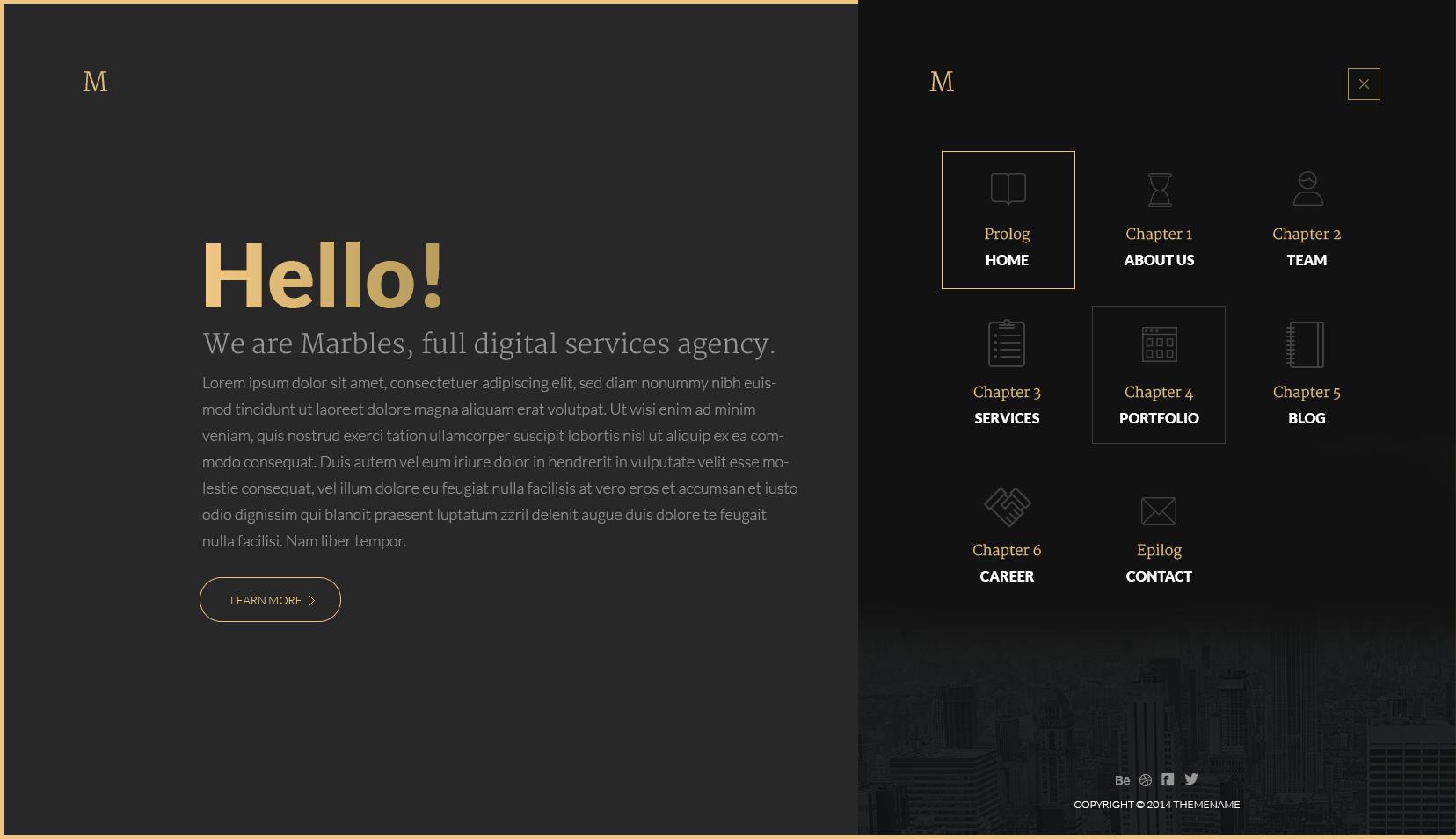Index Png By Vladimir Babic Web Design Black Website Design