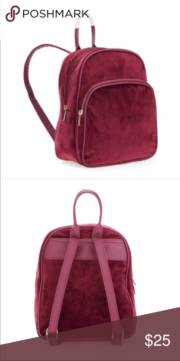 d25145deebe8 Mini backpack Suede  velvet Mini but can hold a lot   makes for easy  organizing! Bags Backpacks