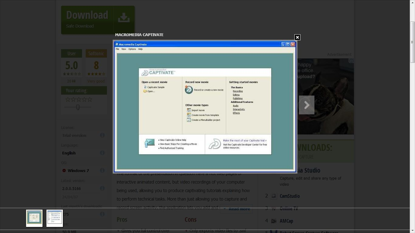 Captivate好用的螢幕錄製工具 http://www.minwt.com/pc/1453.html