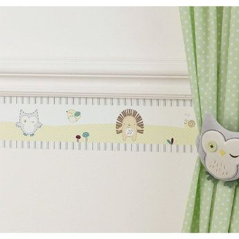 Olive & Henri Self Adhesive Wallpaper Border Babies R Us