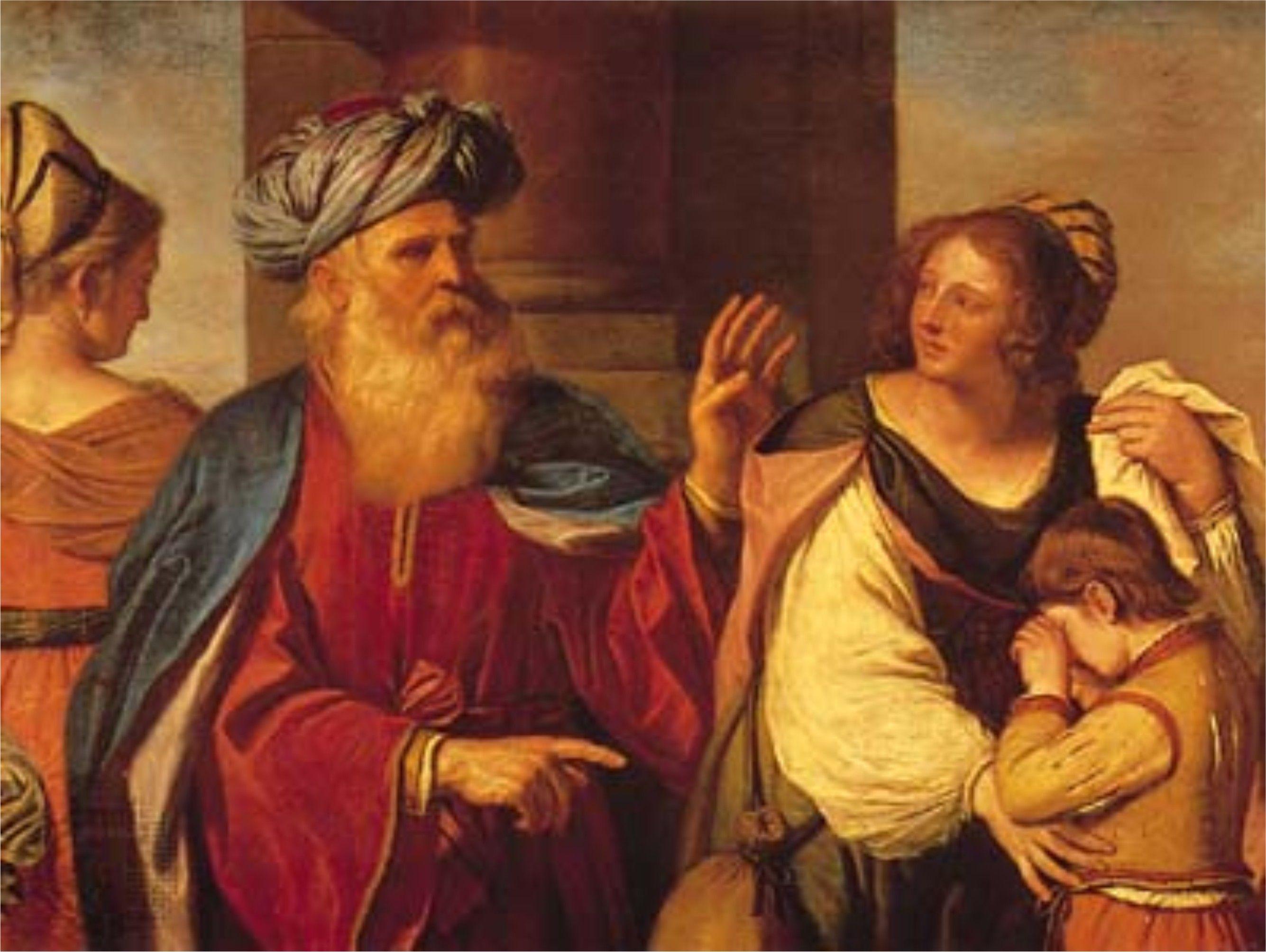 abraham driving agar & ismael | bible characters | Pinterest | Agar