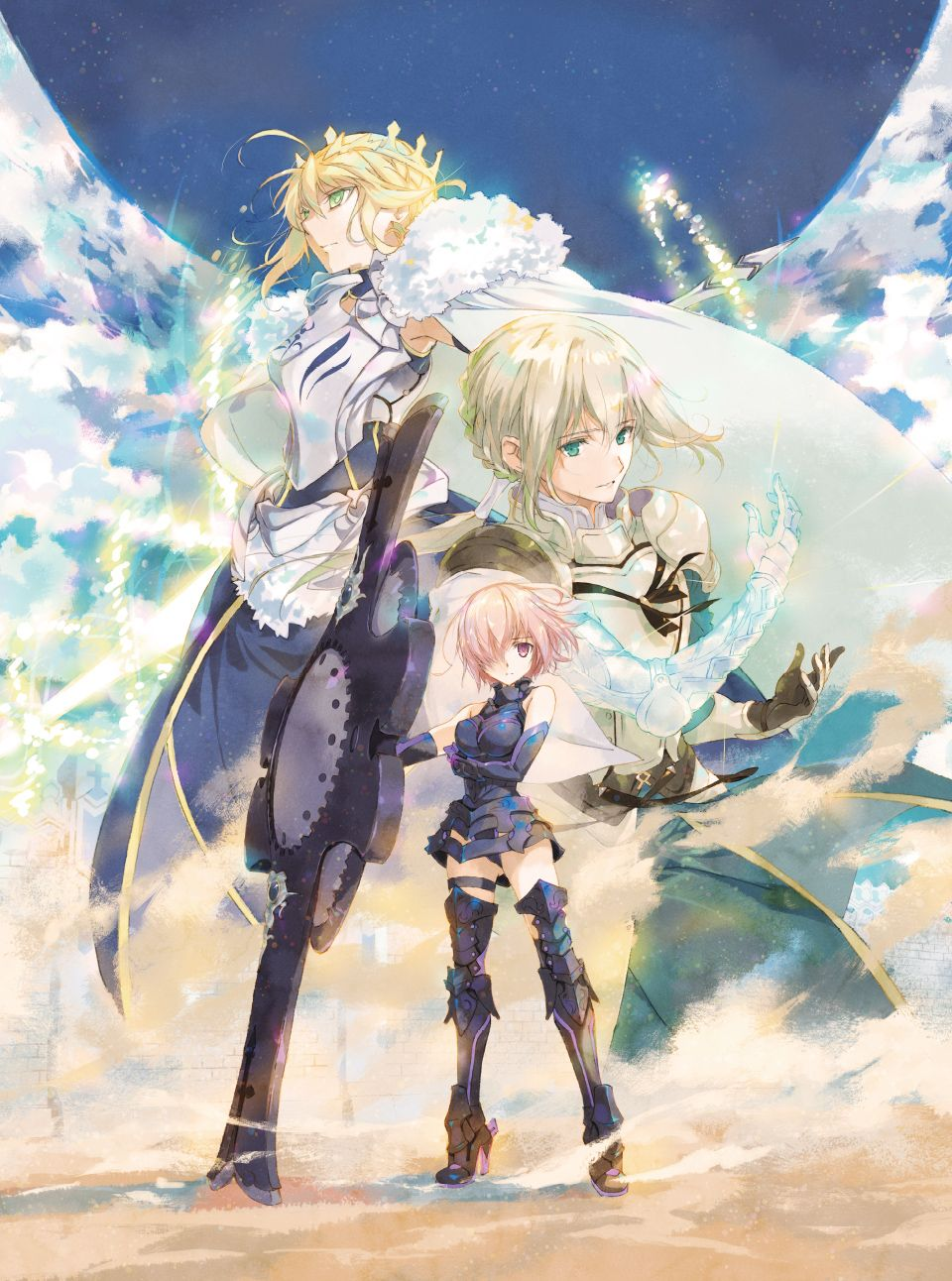 SPECIAL   Fate/Grand Order THE STAGE -神聖円卓領域キャメロット-   Fate grand order lancer. Fate anime series. Anime
