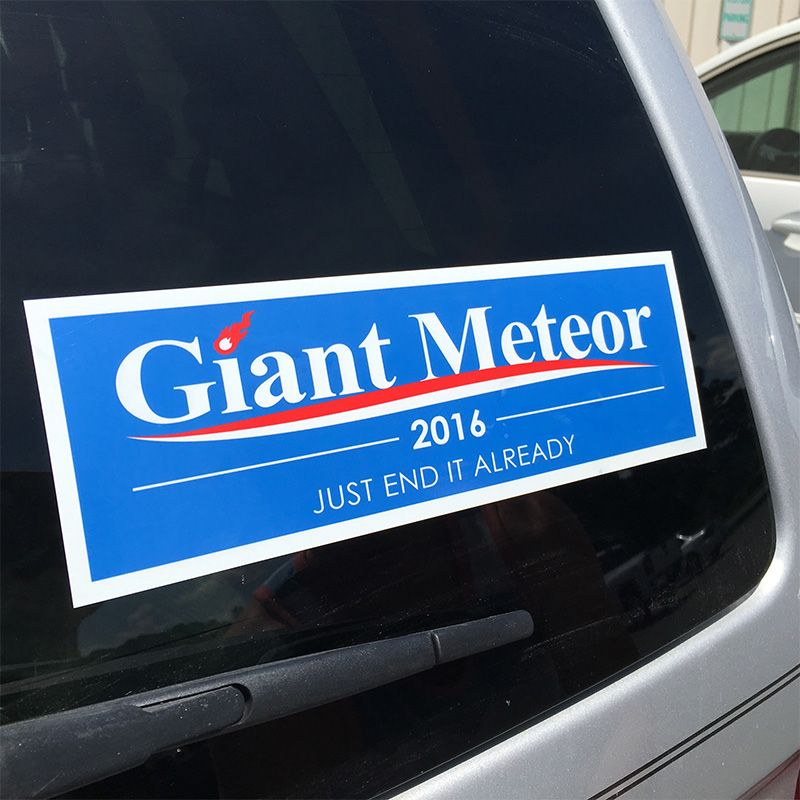 Giant Car Stickers