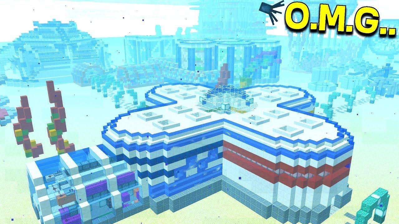 worlds biggest underwater minecraft redstone house - Biggest House In The World 2017 Minecraft