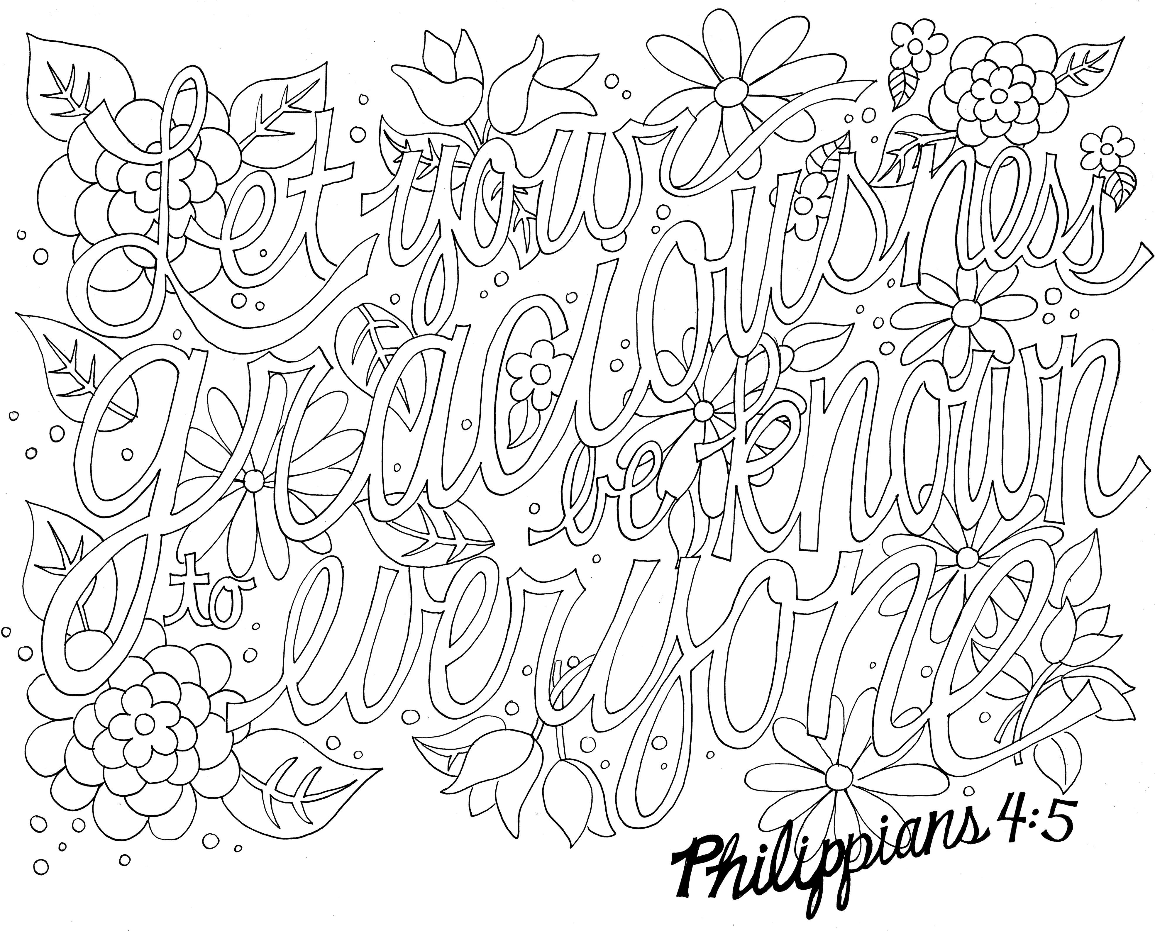 inspirational coloring pages with scripture - Google zoeken ...