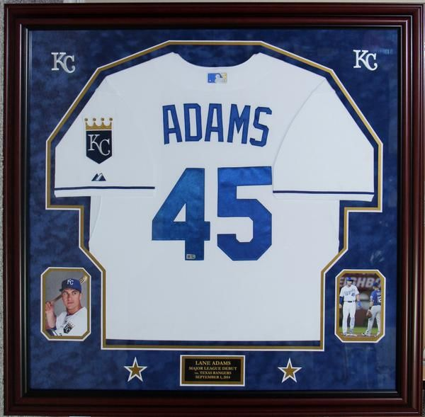Kansas City Royals rookie Lane Adams