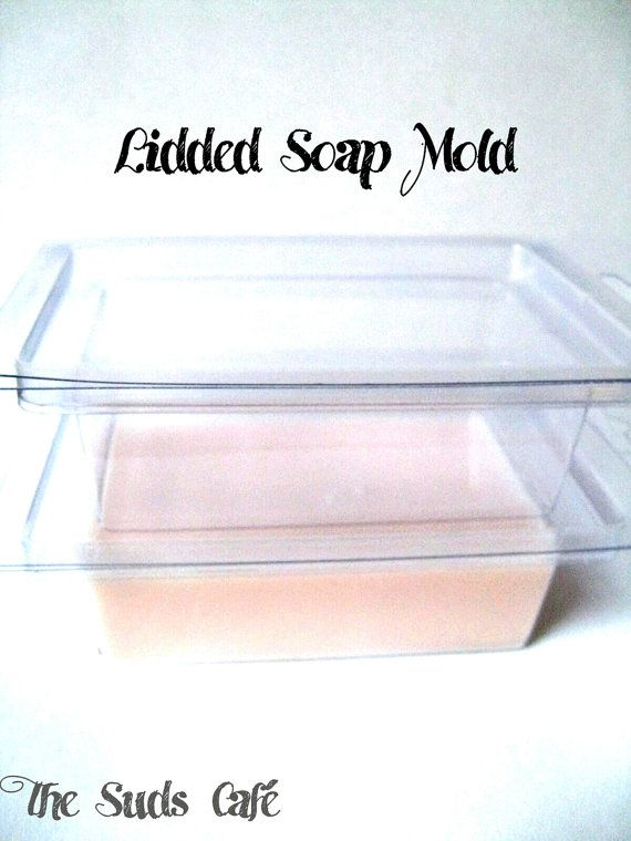 Plastic Lidded Soap Mold Set Of 10 Display Soap Reusable Soap Supplies Soap Clamshell Soap Molds Soap Supplies Molding