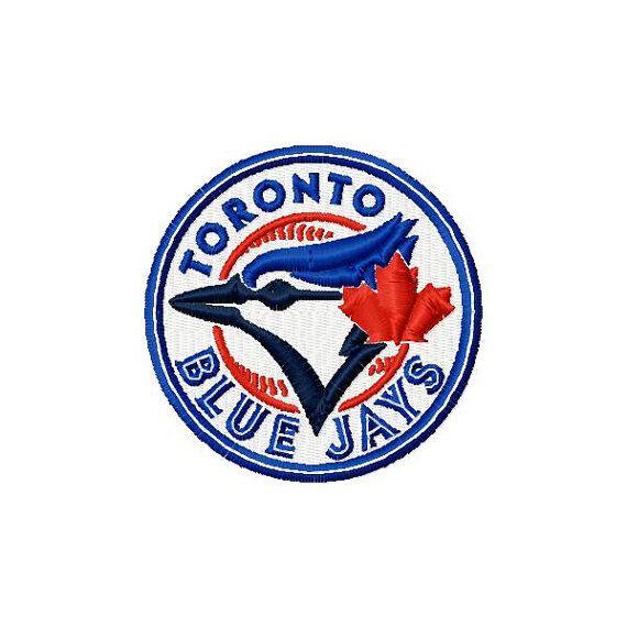 Toronto Blue Jays Logo Machine Embroidery Design Toronto Blue Jays Logo Blue Jays Toronto Blue Jays