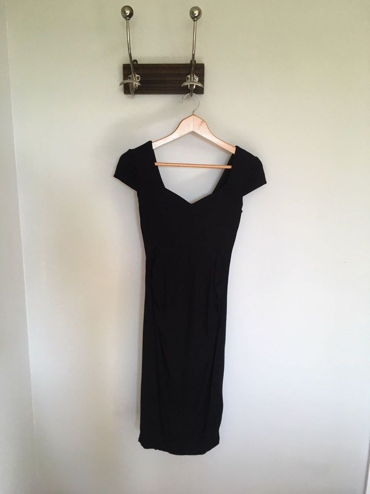 054181f273d6f Asos black body con maternity dress Size 8 / Small #fashion #clothing  #shoes #accessories #womensclothing #maternity (ebay link)
