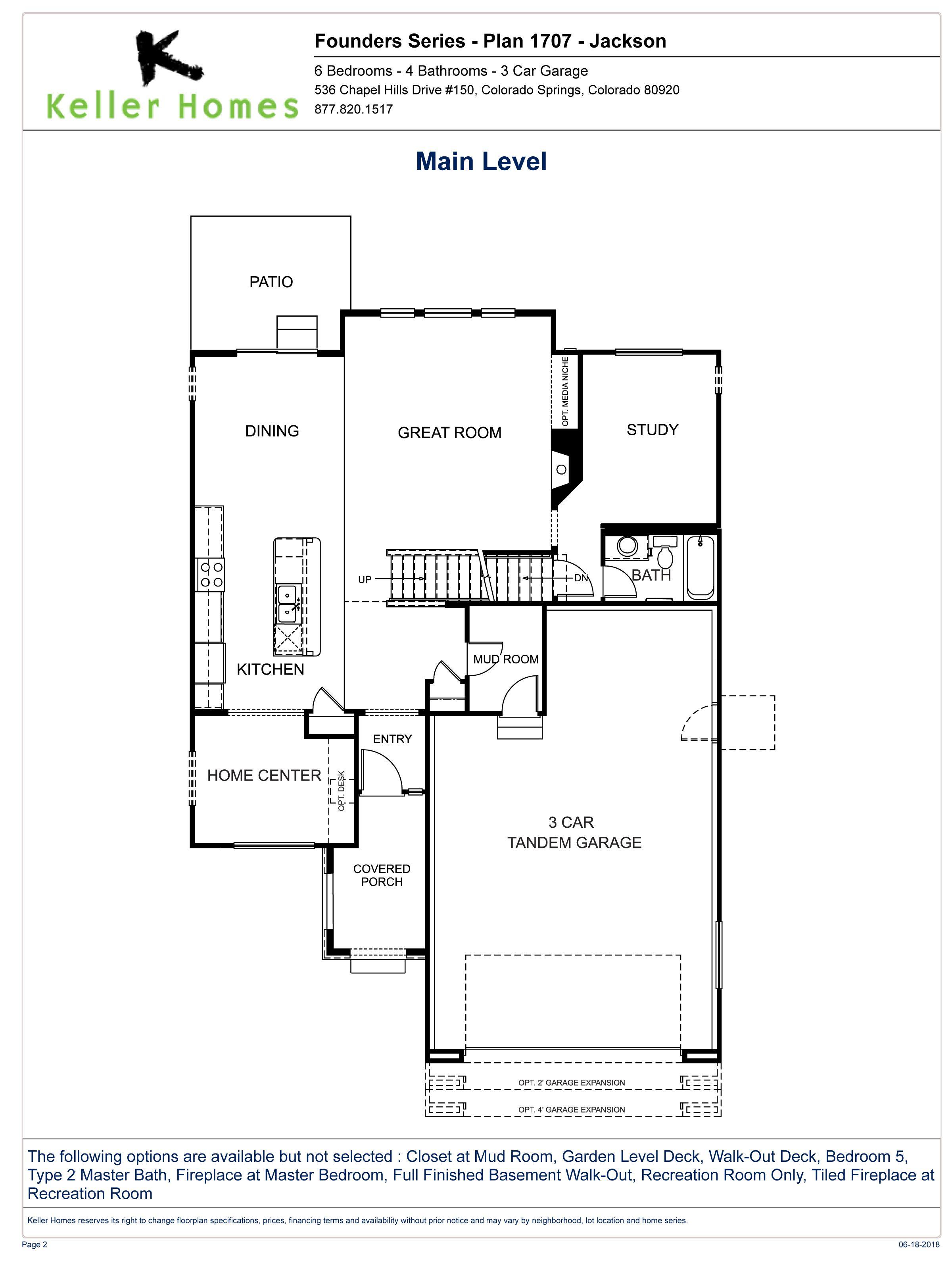 Interactive Floorplan The Jackson Floor Plans Tandem Garage How To Plan