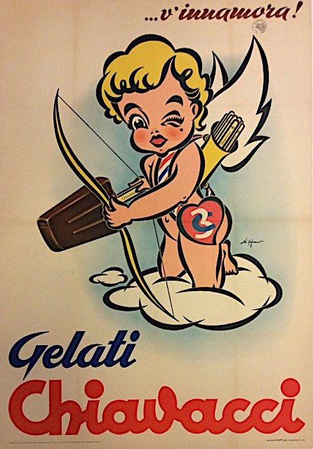Gelati Chiavacci Torino Original Vintage Poster Manifesti Originali D Epoca Www Posterimage It Poster Vintage Pubblicita Vintage Pubblicita D Epoca