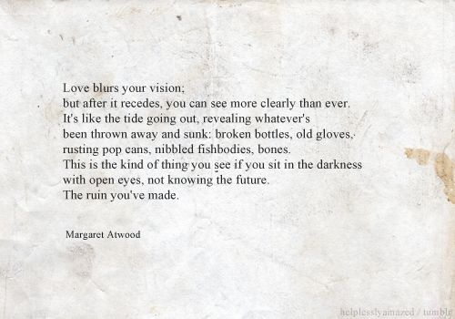 The Ruin Youve Made From The Cats Eye By Margaret Atwood