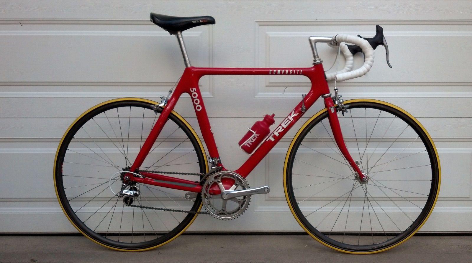1989 Vintage Trek 5000 Carbon Fiber Road Bike