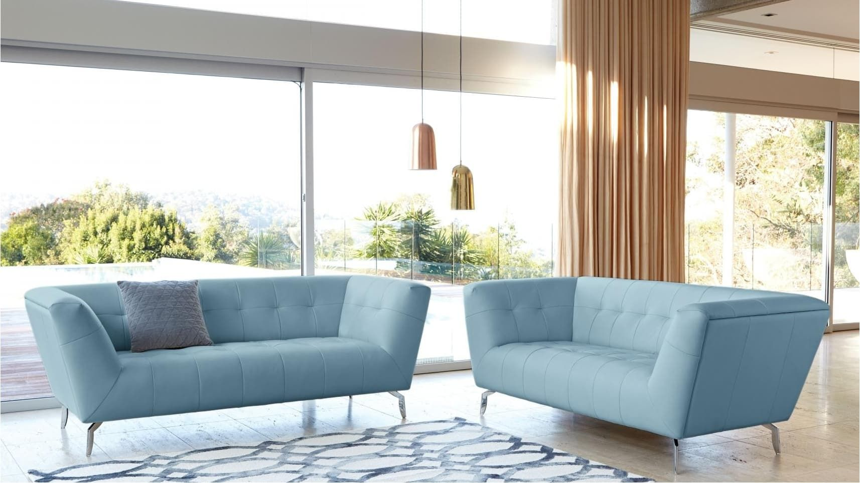 Sofa lounger pictures to pin on pinterest - Home Furniture Lounges Leather Lounges Contempo Leather Sofa