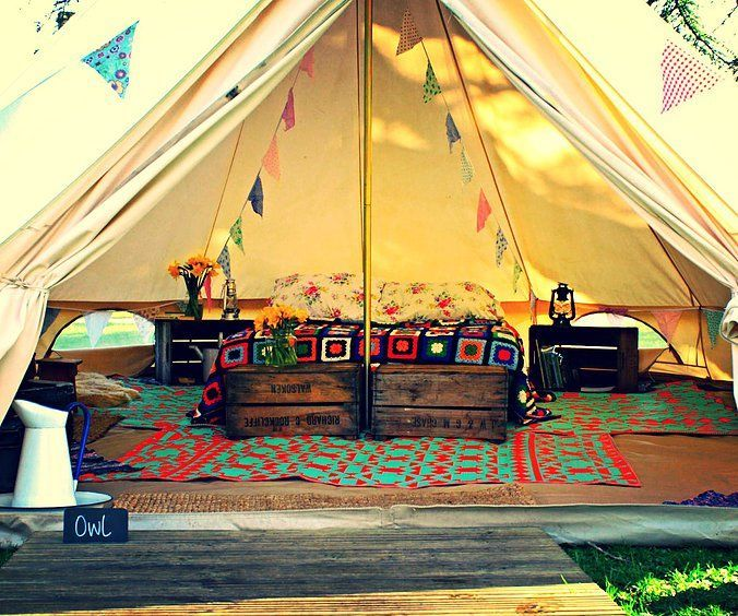 Bell Tent Decor Mesmerizing Classic Bell Tent  Urbans And Indians  Camping  Pinterest Design Inspiration