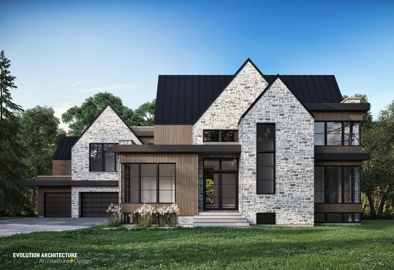 Parfait #architecture#plan Maison#plan Personnalisé#justedupin#moderne#Pierre  Arriscraft#design#
