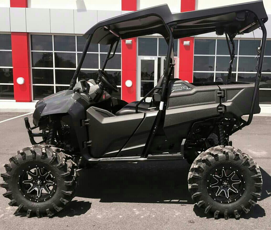 Custom Honda Pioneer 700 4 31 Tires Lift Kit Lift Kits Honda Pioneer 1000 Body Kit