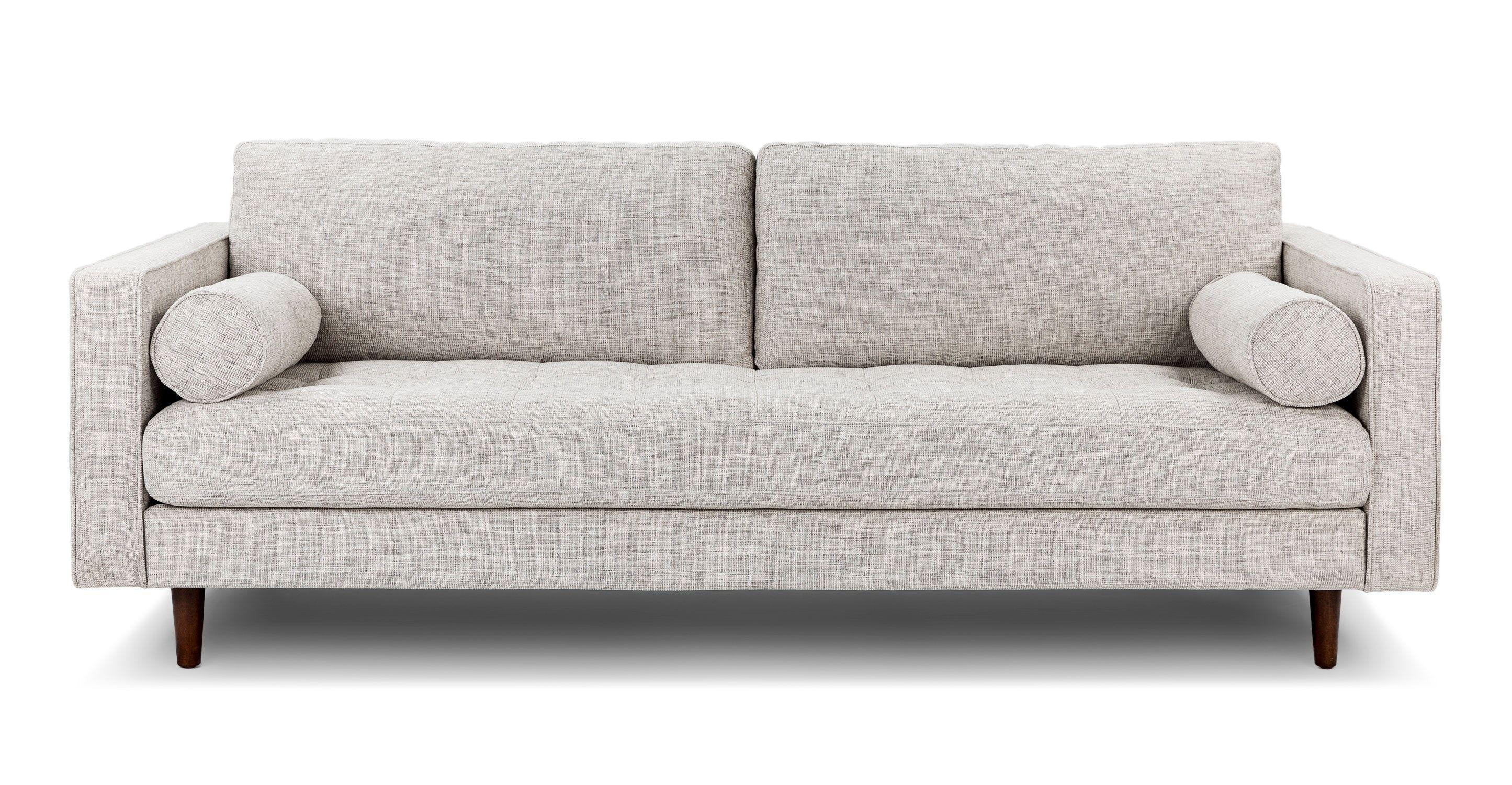 Sven Birch Ivory Sofa Sven Sofa Mid Century Modern Sofa Modern Sofa Couch