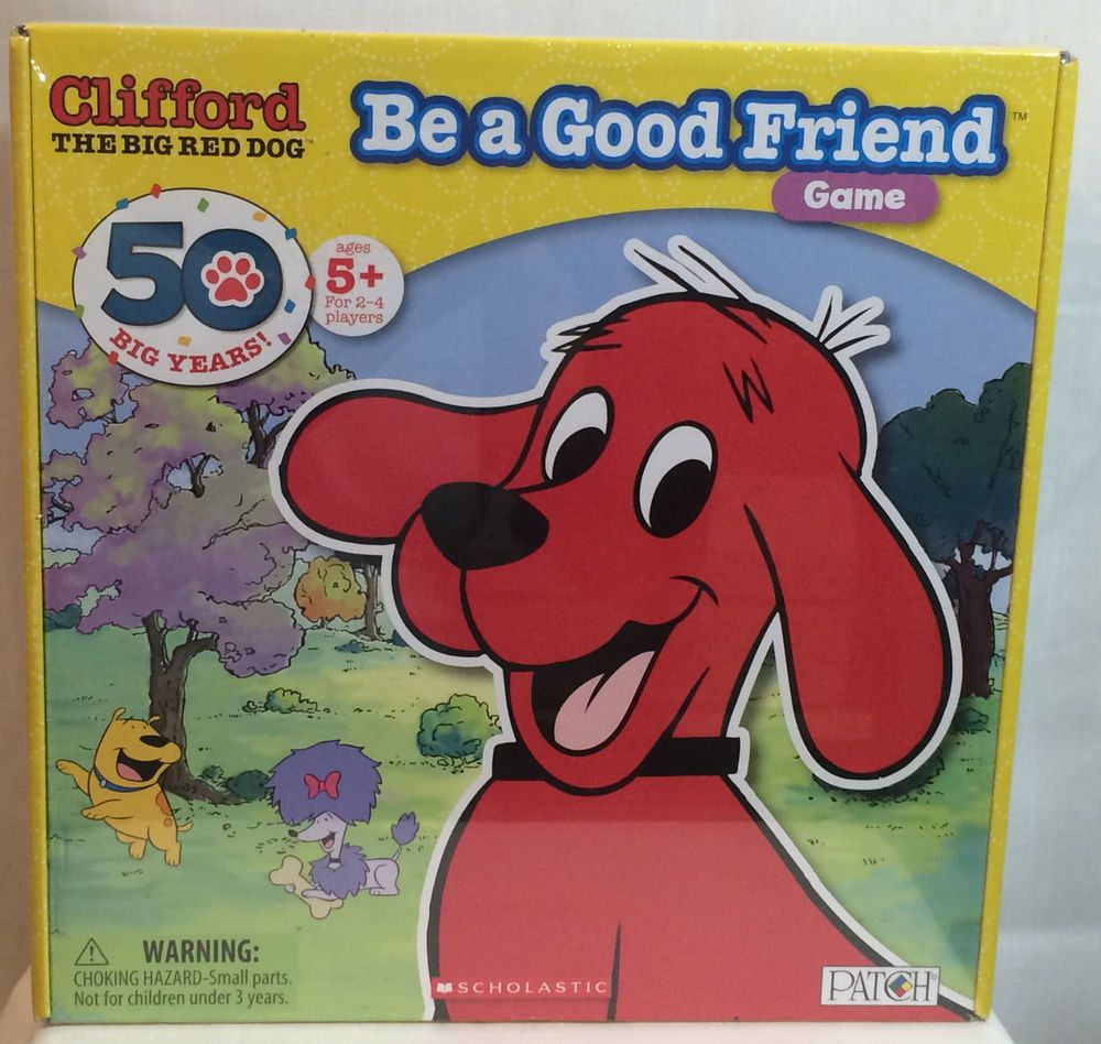 Clifford The Big Red Dog Be A Good Friend Game--NEW ...
