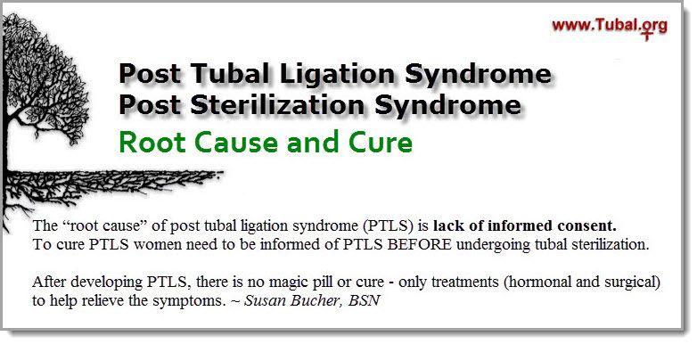 post tubal ligation syndrome