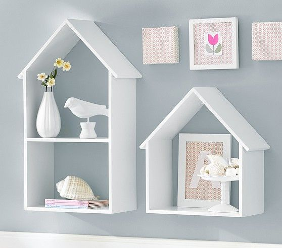 Birdhouse Cubbies Pottery Barn Kids Upstairs Ideas In