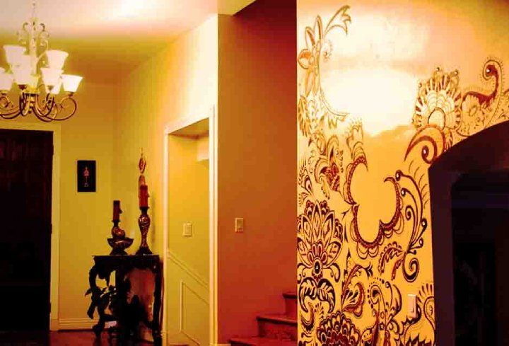 Finished Product: Wall Henna Paint: Original Artwork & Designs by ...