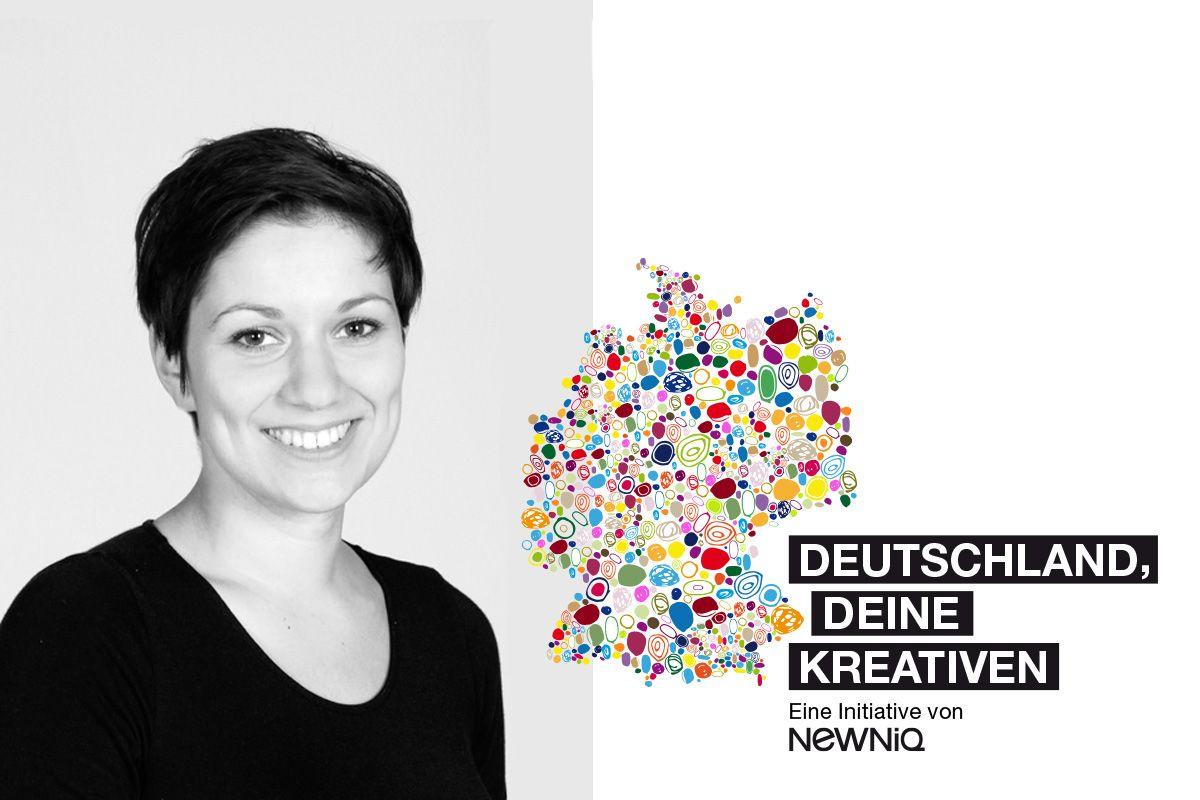 "Deutschland, deine Kreativen: Laura Jungmann <span class=""caps"">SAMESAME</span>"