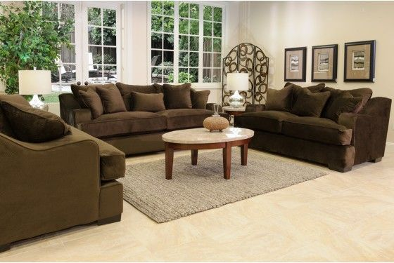 Living Room Sets For Less warrior living room in cosmo brown - living room sets - shop rooms