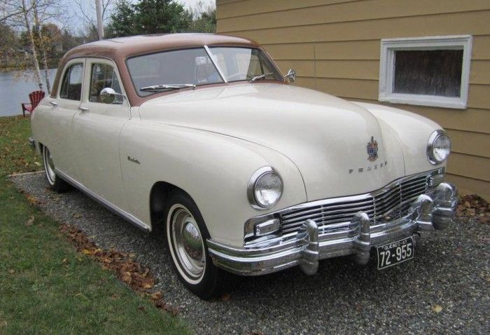 Hemmings Find Of The Day 1947 Frazer Manhattan Cars