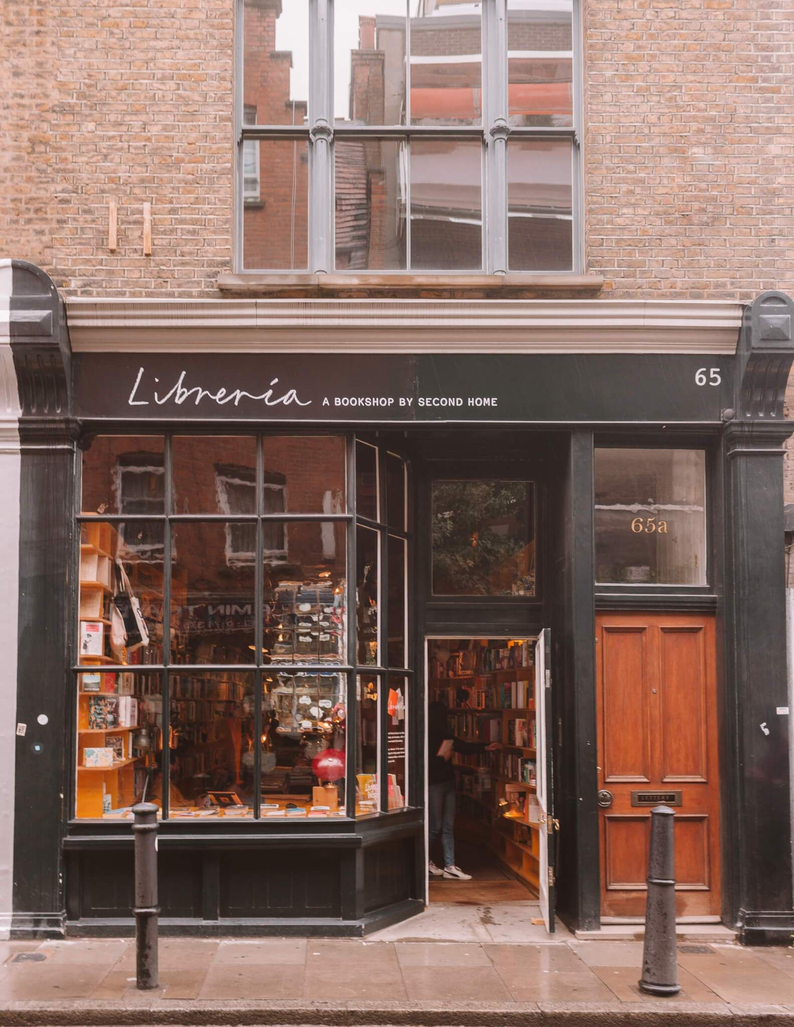 Libreria, Shoreditch. These are 15 of the most beautiful bookshops in London. London is home to some of the most beautiful bookshops in the world. These are all independent bookshops in London and they stock a variety of old and new, fiction and non-fiction etc. Perfect for bookworms in London! #whatshotblog #bookshopporn #bookstagram #bookshops #travelLondon