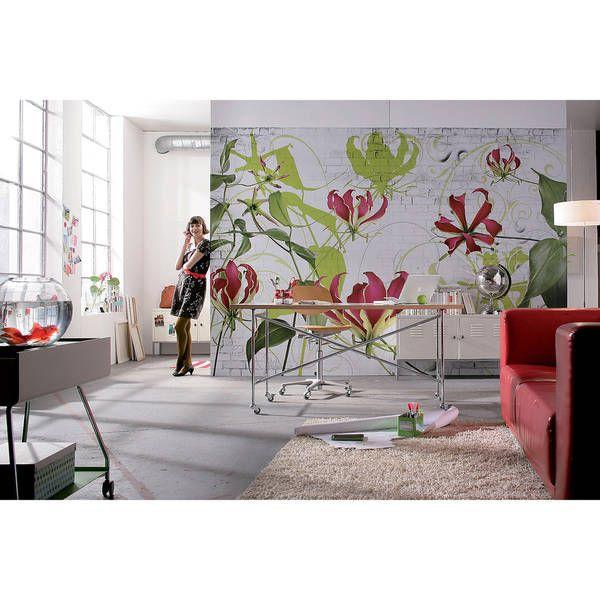 Komar Gloriosa Vinyl Wall Mural ooooo Pinterest Wall murals