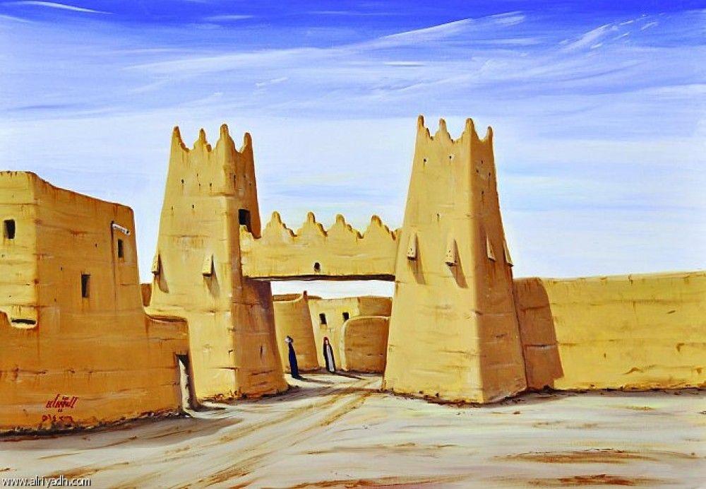 رياض الخبراء الفنان صالح النقيدان Monument Valley Natural Landmarks Landmarks
