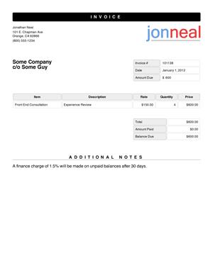 Create Free Invoice Online Prepossessing Các Thẻ Dùng Để Xác Định Một Vùng Chứa Nội Dung Trong Html5  Places .