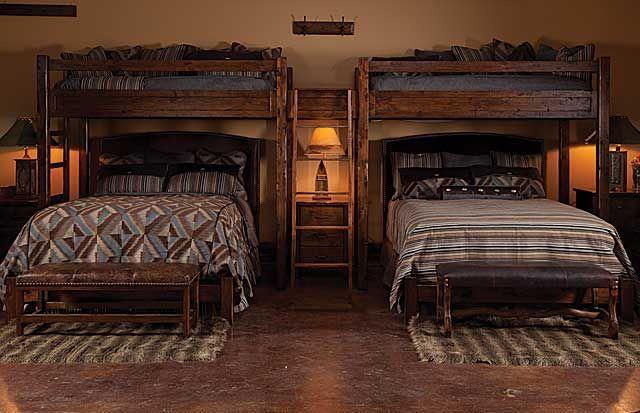 East Canyon Twin Size Platform Loft Bed Espresso Cabin