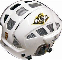 Hockey Helmet Decals Free Samples Send Your Logo Hockey Helmet Football Match Helmet