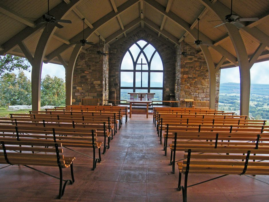 Open Chapel At Camp Mitchell On Petit Jean Mountain Photo By Fred Garcia Capture Arkansas