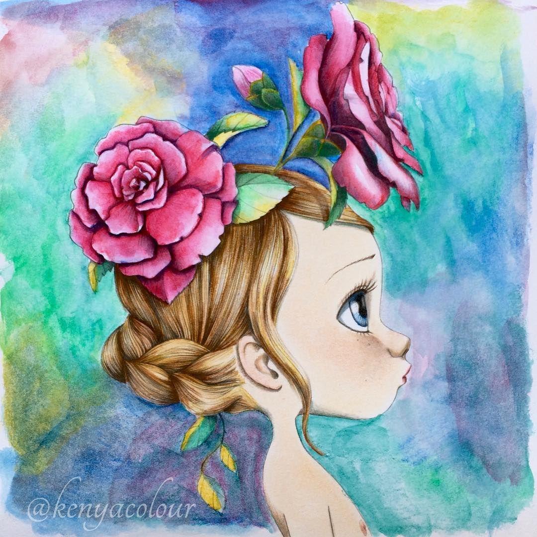 Pin De Helen En Frida Kalho Ilustracion Acuarela Dibujos Muneca Dibujo