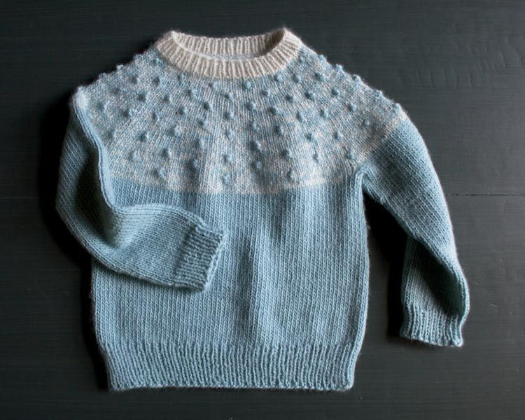 Bobble yoke sweater | Crafts | Pinterest | Abeja puntilla, Patrones ...