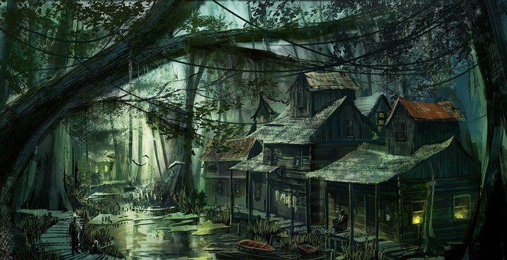 Fantasy Wallpaper Dump Take A Wallpaper Leave A Wallpaper Fantasy Landscape Fantasy Village Fantasy City