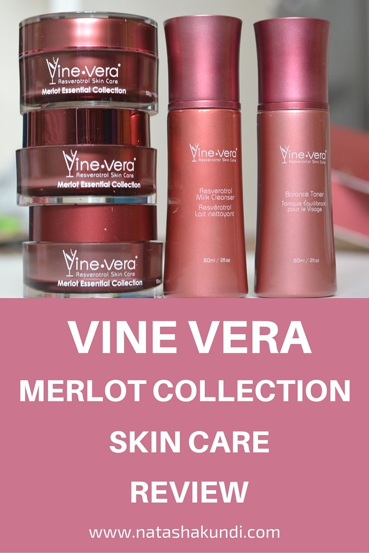 Vine Vera Merlot Collection Luxury Skin Care Review Skin Care Skincare Review Skin Care Secrets