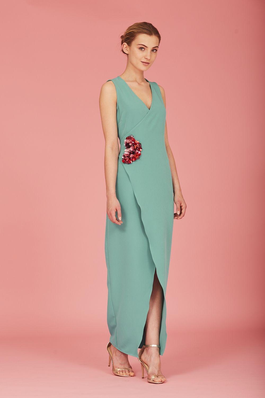 Coosy - VESTIDO ELIZ VERDE | vestidos de fiesta señoras | Pinterest ...