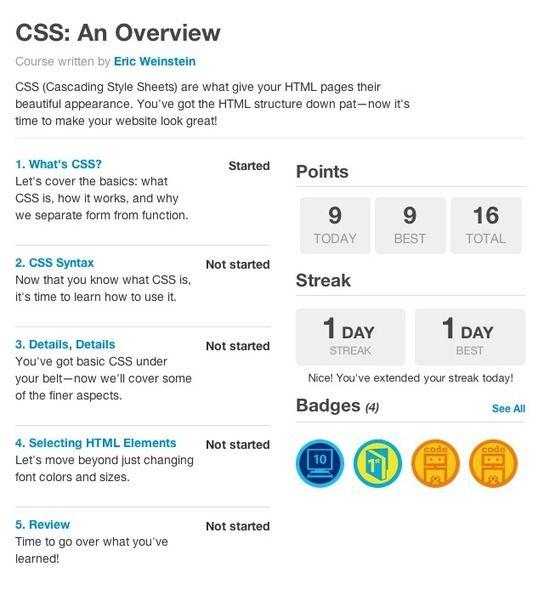 Webdev The Best Way To Learn Css Web Devel Web Development Resources Web Design Tutorials Web Design