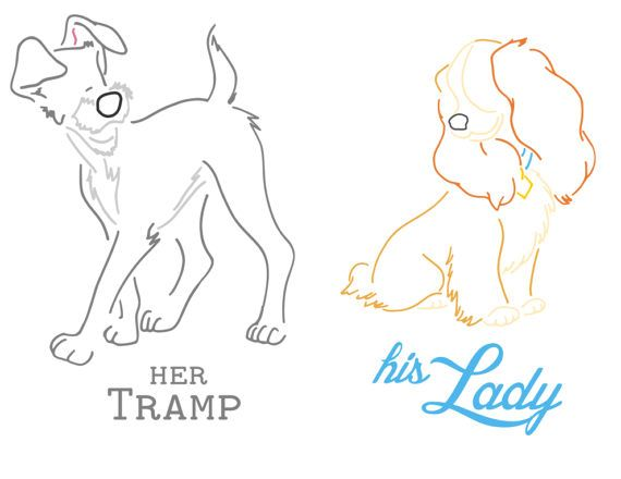 This Item Is Unavailable Lady And The Tramp Disney Silhouettes Silhouette Cameo Disney