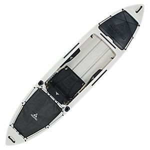 Ascend H12 Sit In Hybrid Kayak White Black Bass Pro