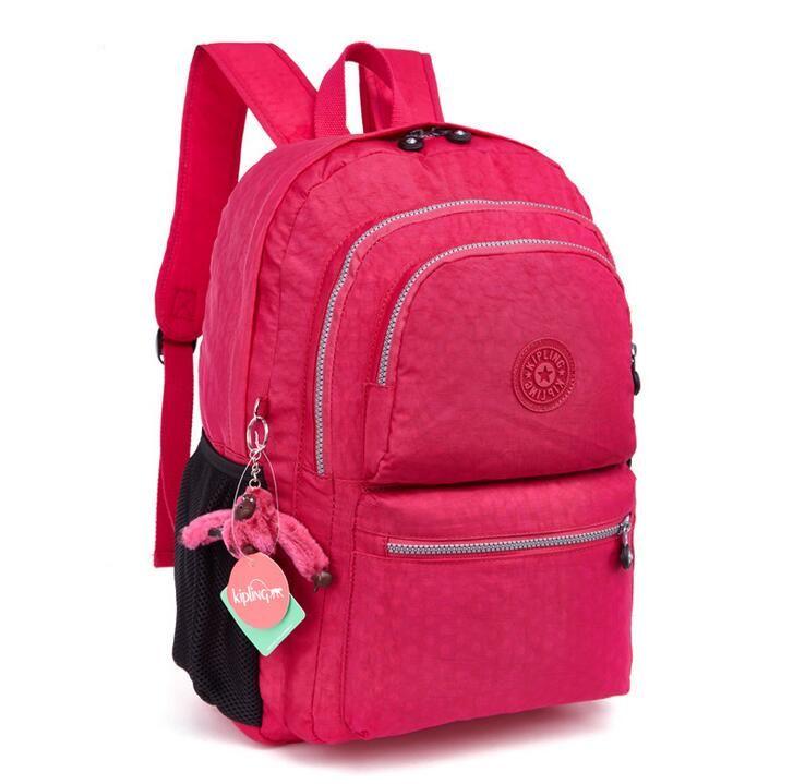 ba37e0d7d Barato Novo 2016 bolsa de ombro bolsa de computador 100% Original kipleds  mochilas Mochila macaco Kipple homens e mulheres Mochila Feminina Bolsas,  ...